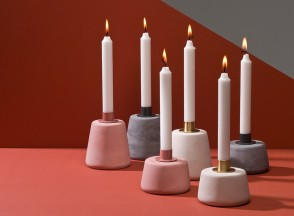 Concrete_Cone_Candle_Holders_MOXON